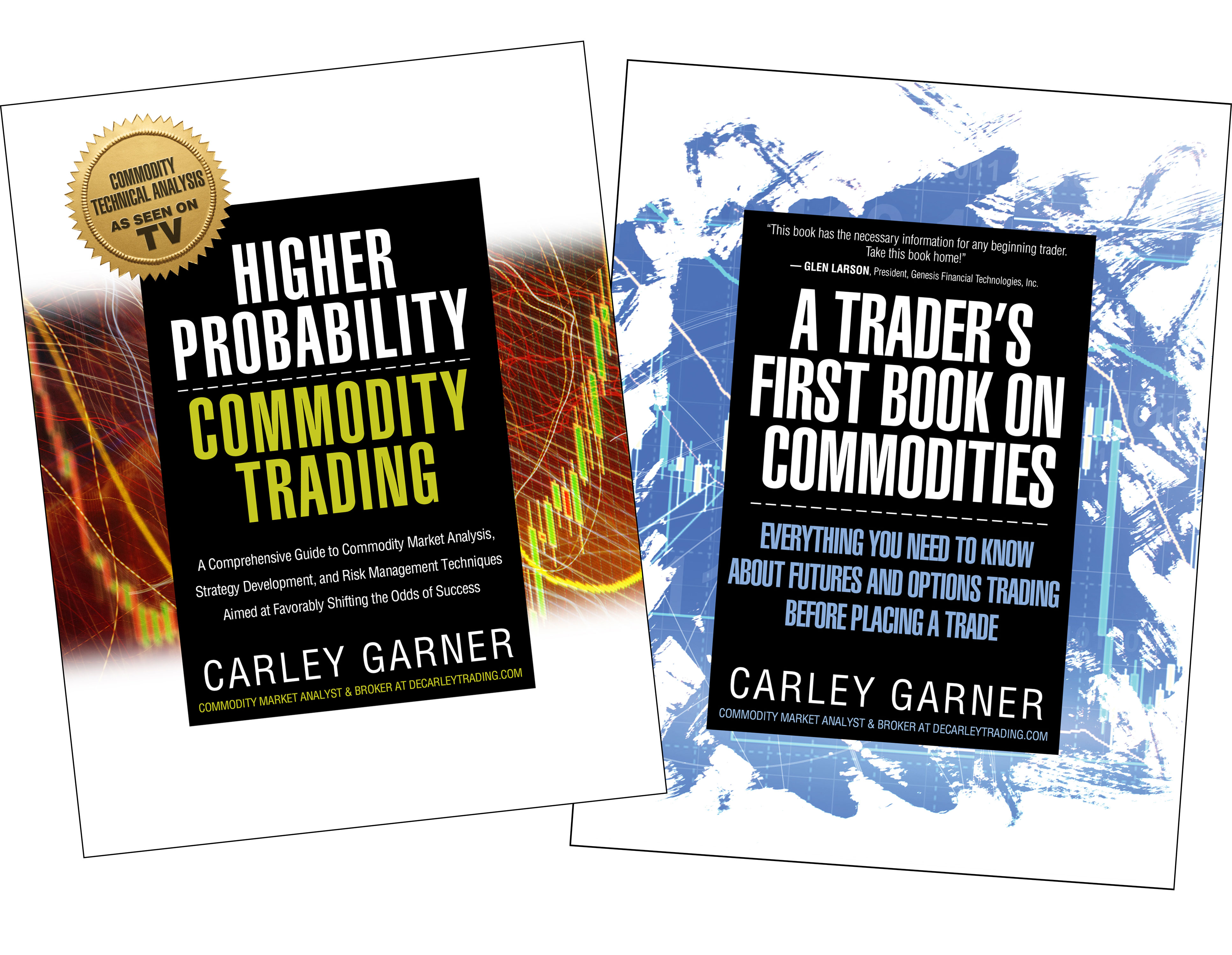 Commodity Trading Books by Commodity Broker Carley Garner