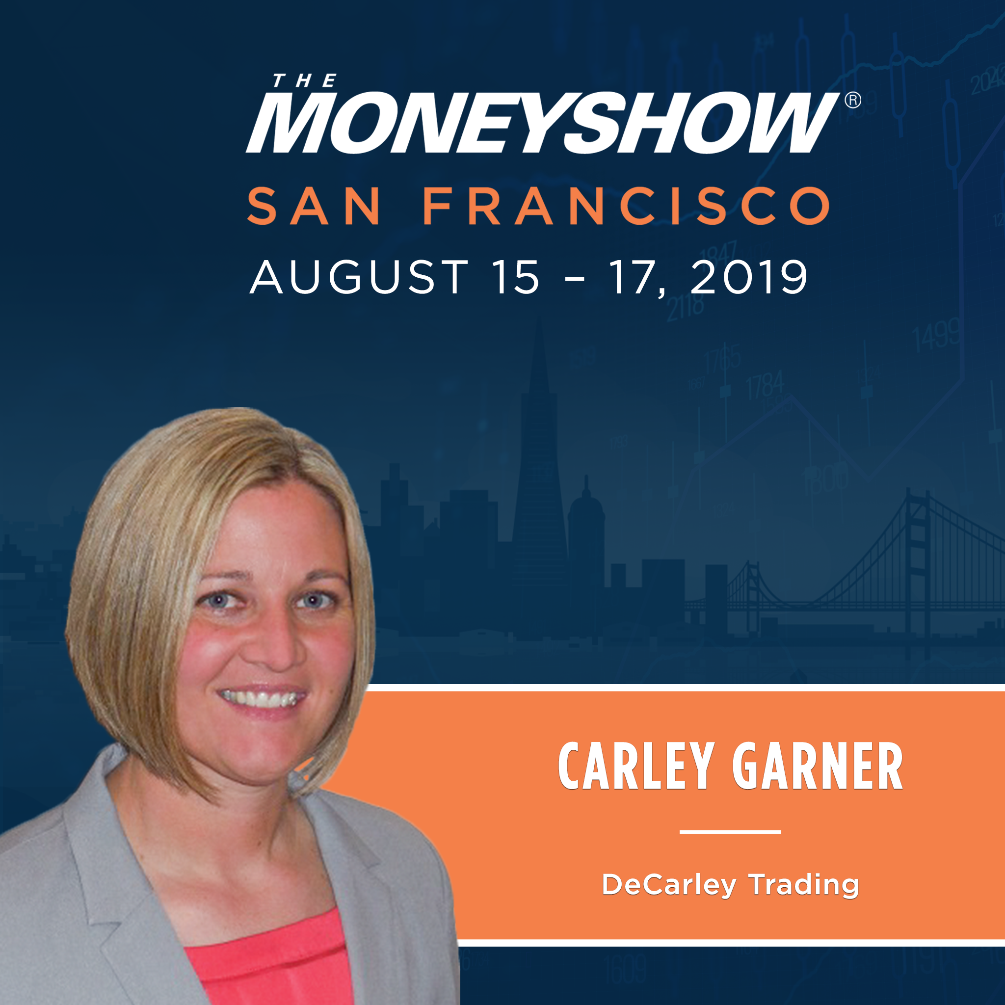 See DeCarley Trading at the MoneyShow in San Francisco