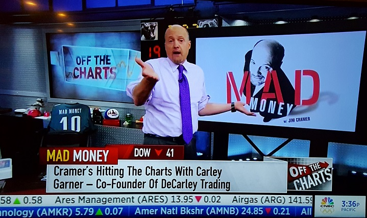 Jim Cramer looks to Carley Garner of DeCarley Trading for advice on the commodity index markets