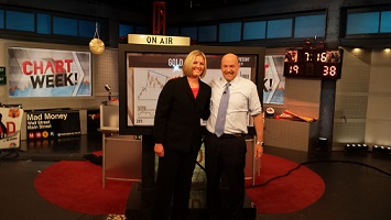 Jim Cramer and Carley Garner small
