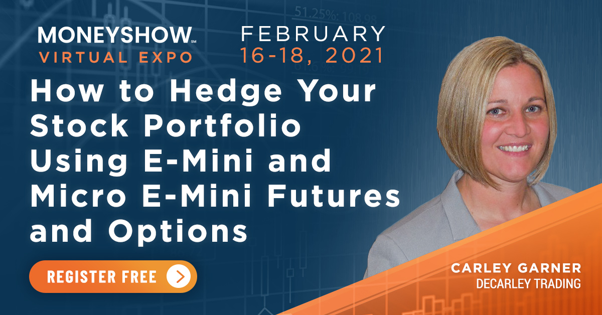 Portfolio hedging with options and futures - Carley Garner - MoneyShow