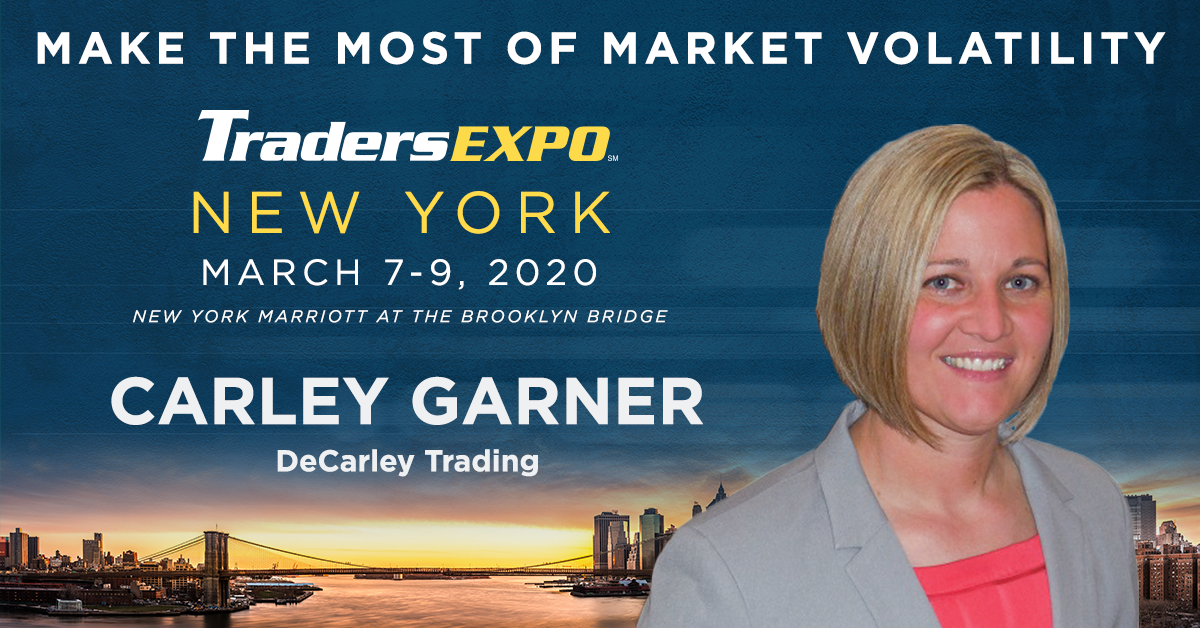 See Carley at the New York TradersExpo