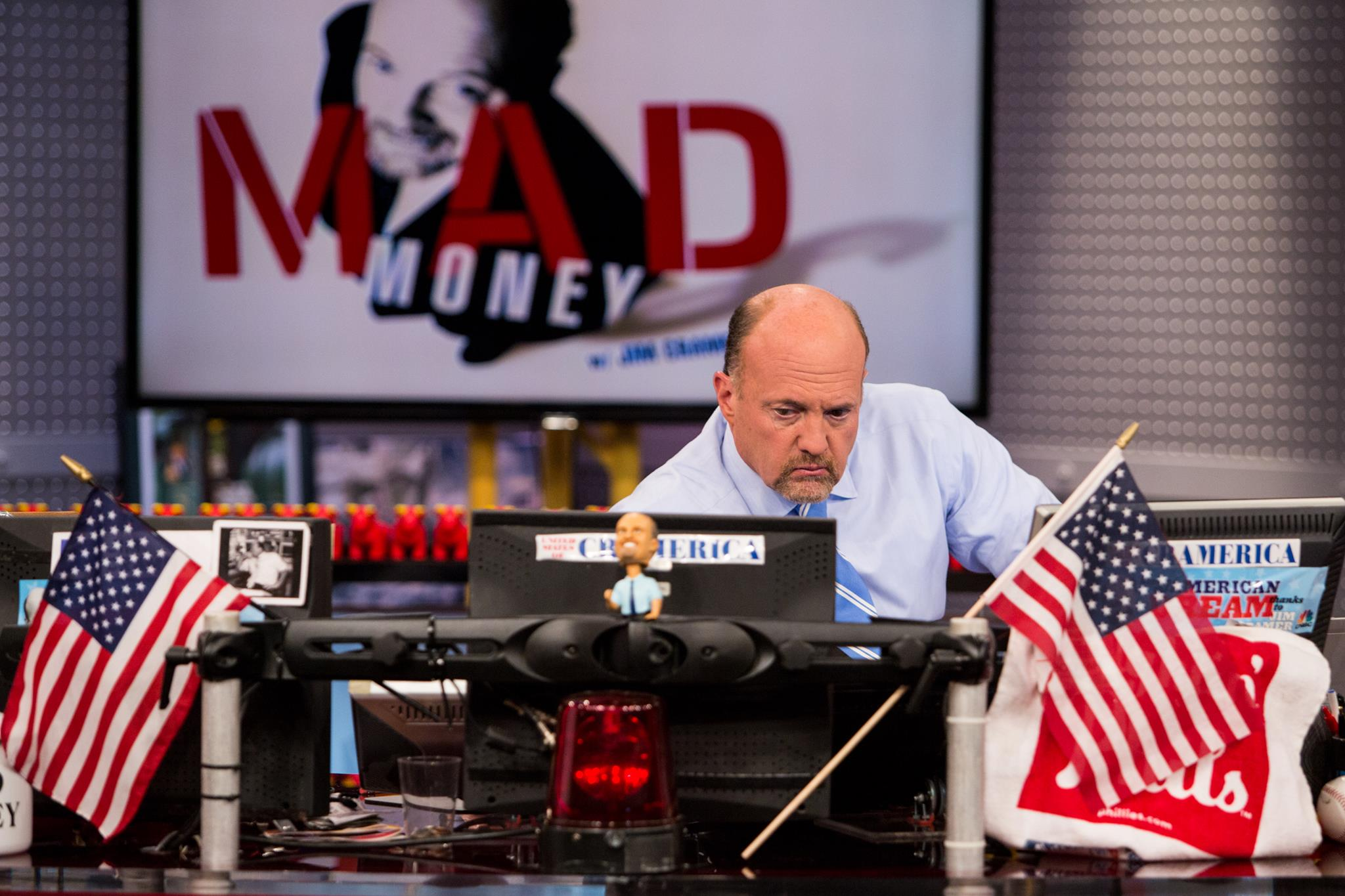Jim Cramer featured DeCarley's Gold Futures Market Analysis on Mad Money