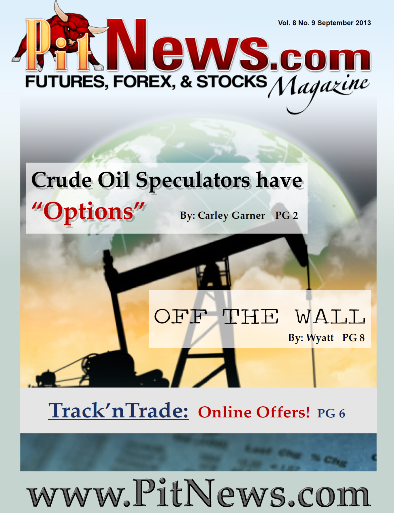 Option trading oil