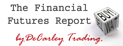 Financial Futures Report Newsletter by DeCarley Trading